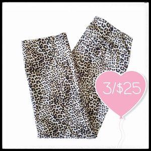⭐3/$25⭐Studio Point Leopard Ankle Pants